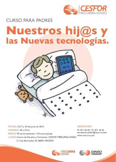 Cartel nuevas tecnologias